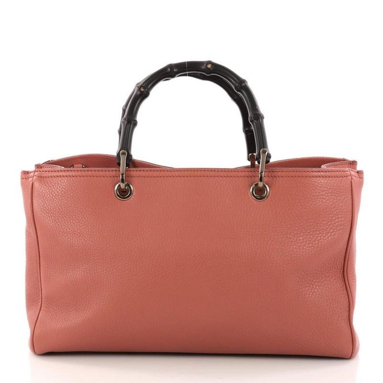 e8e78173478 Gucci Bamboo Shopper Tote Leather Medium at 1stdibs