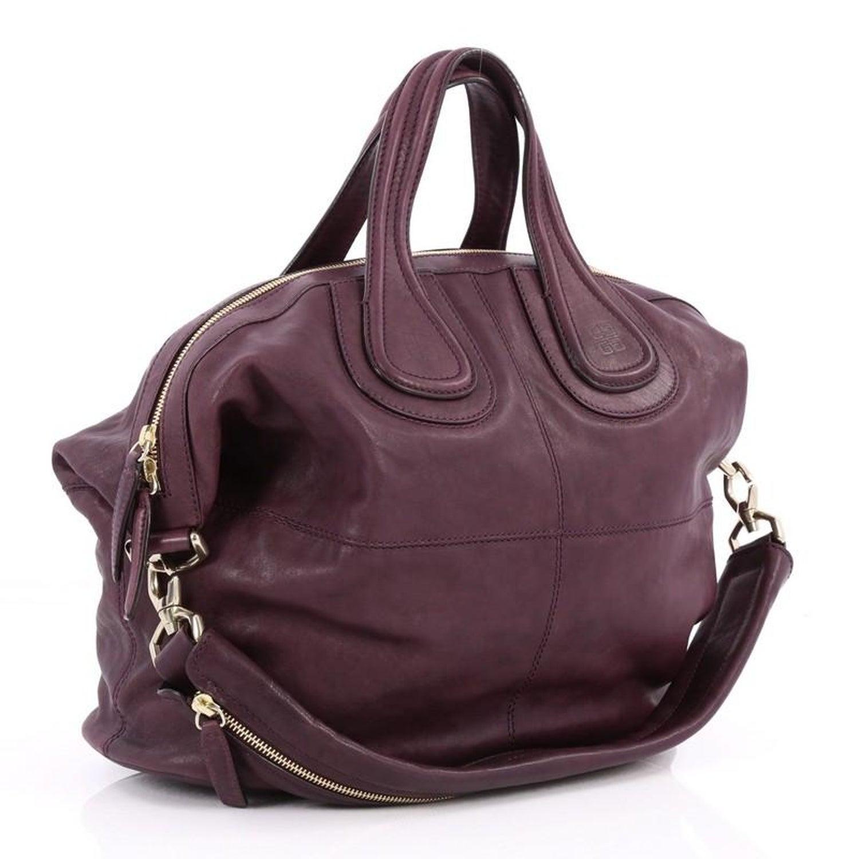 Givenchy Nightingale Satchel Leather Medium