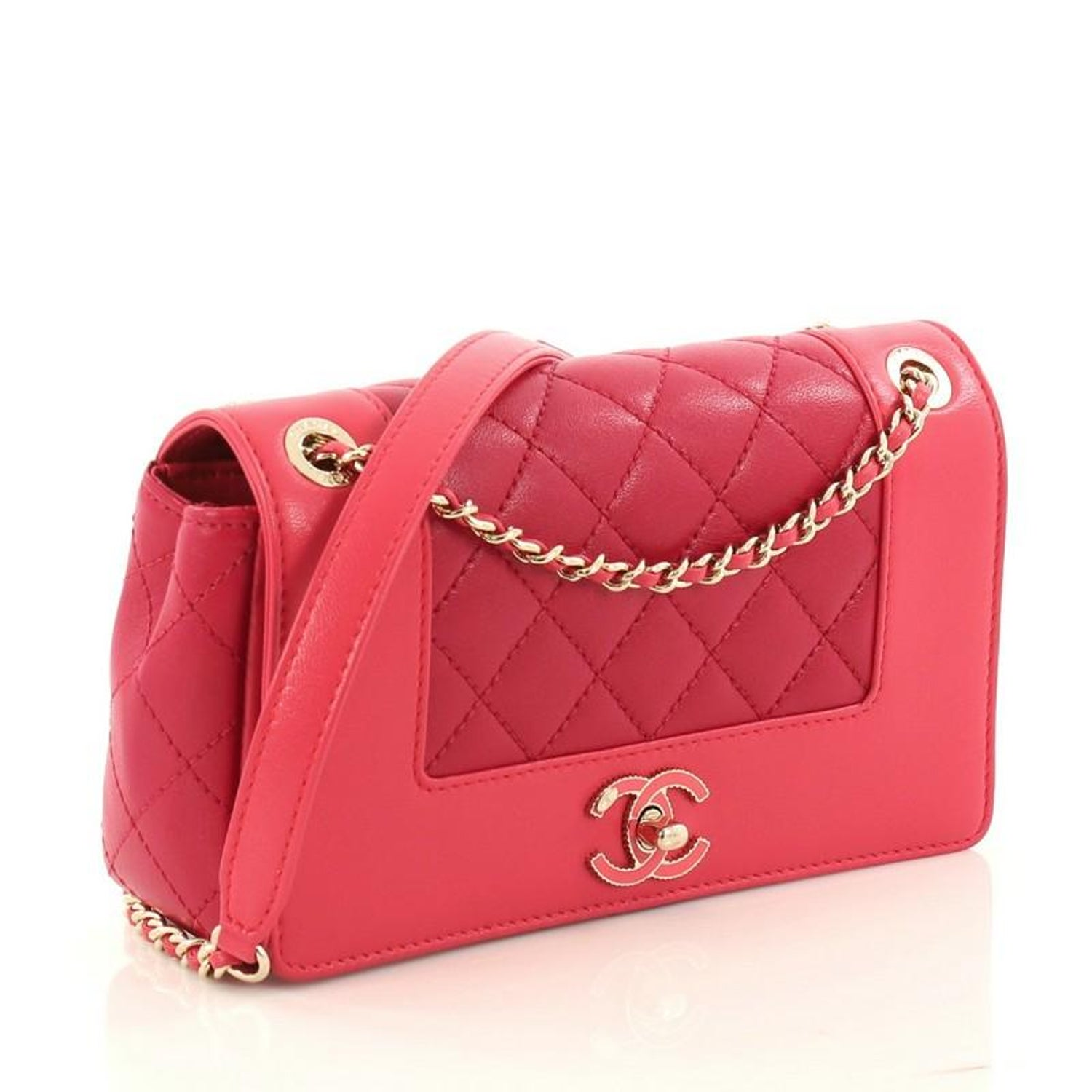 e9346ba193a0 Chanel Mademoiselle Vintage Flap Bag Quilted Sheepskin Small at 1stdibs