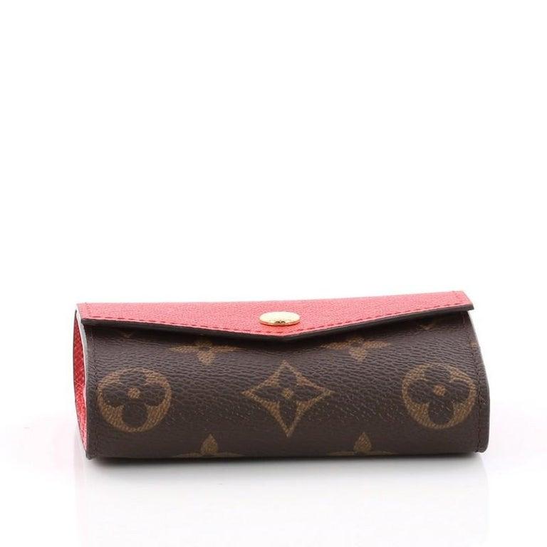 435a79e938ab Women s or Men s Louis Vuitton Sarah Multicartes Wallet Monogram Canvas For  Sale