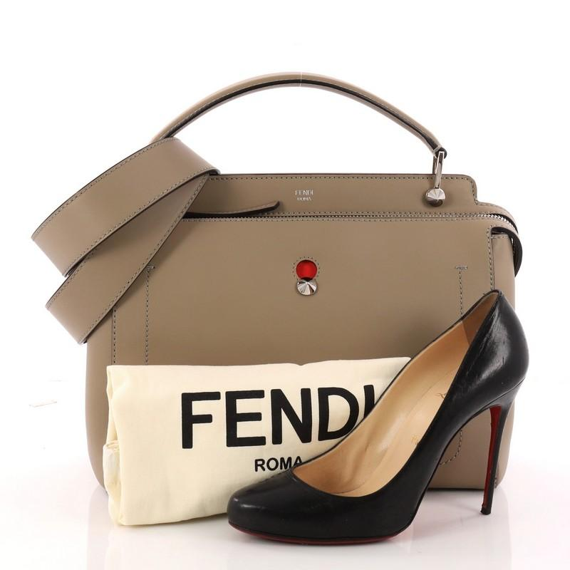 e172dff9881 ... authentic this authentic fendi dotcom convertible satchel leather  medium is a chic and minimalist bag perfect ...