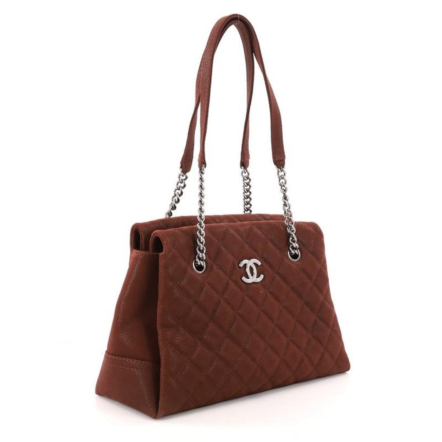 af380d0d9d591d Chanel Lady Pearly Tote Quilted Iridescent Caviar Large at 1stdibs