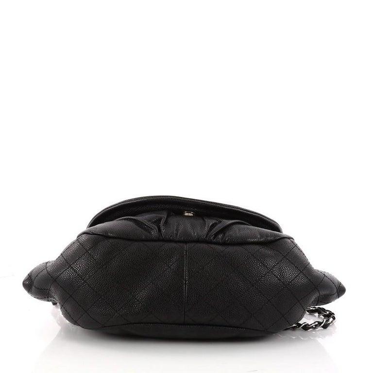Women s or Men s Chanel Timeless Half Moon Flap Bag Caviar Medium For Sale 5abf0b0d0e