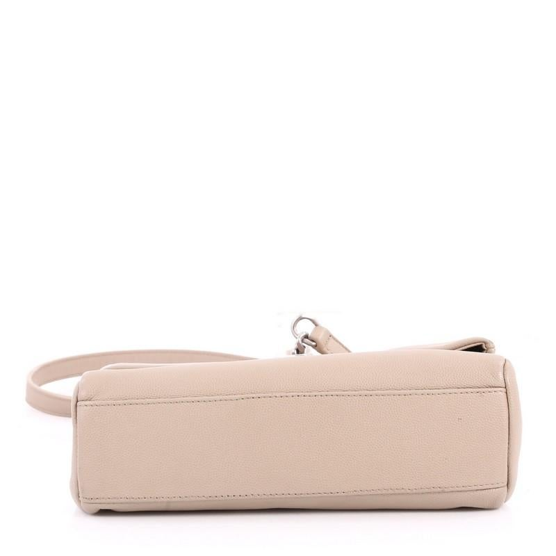 West Leather Hollywood Shoulder Bag Laurent Saint Small 5ALjq34R