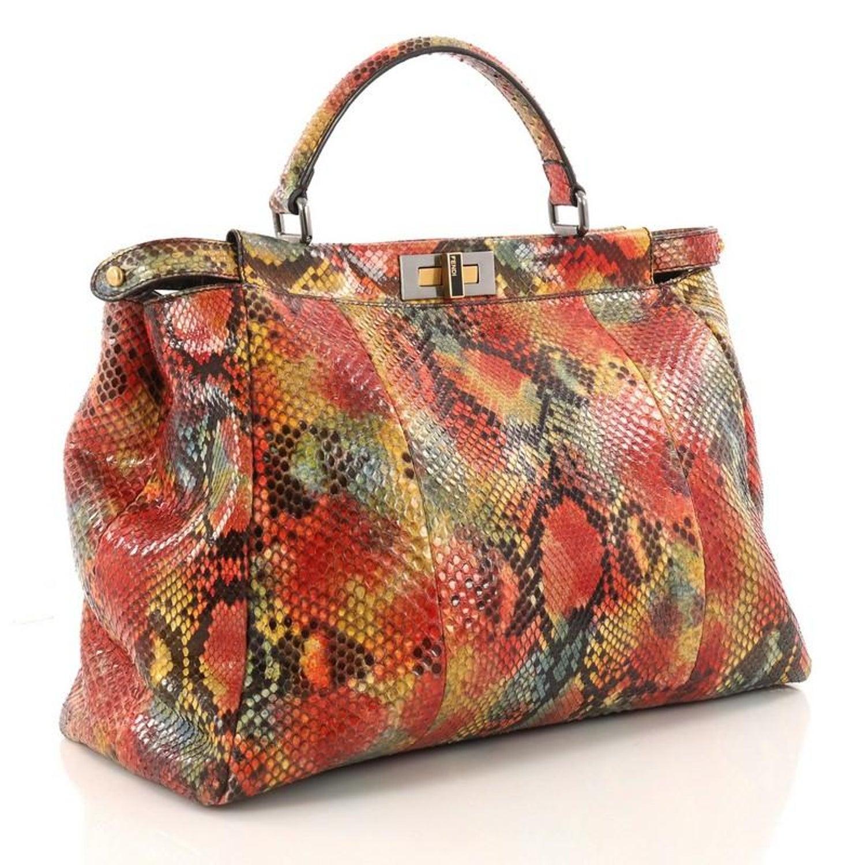 3b431086 Fendi Python Bag