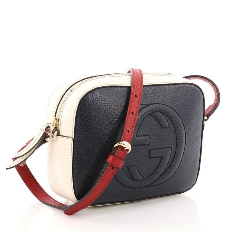 00866d6ab05ba4 Black Gucci Soho Disco Crossbody Bag Leather Small For Sale