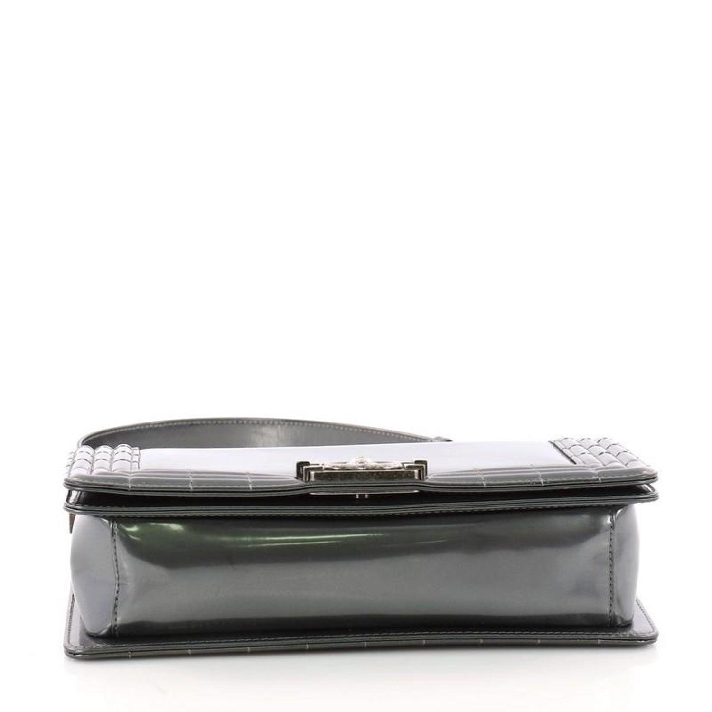 e3901258136fda Chanel Reverso Boy Flap Bag Glazed Iridescent Calfskin Old Medium at 1stdibs