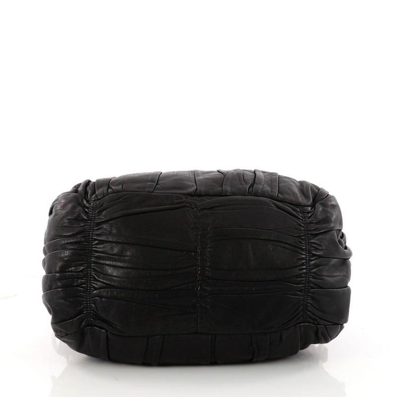 0fa0d34dbc41 Prada Gaufre Convertible Tote Nappa Leather Medium at 1stdibs