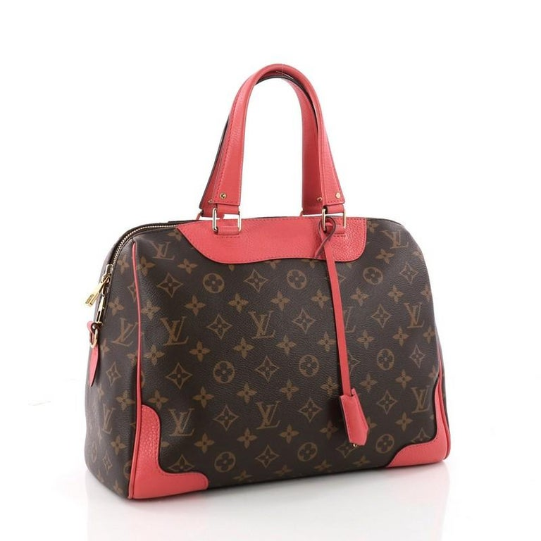 Louis Vuitton Retiro Nm Handbag Monogram Canvas At 1stdibs