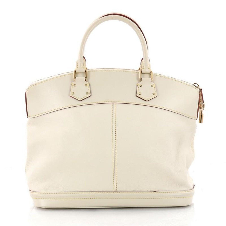 5fe8cdda3aef Louis Vuitton Suhali Lockit Handbag Leather MM at 1stdibs
