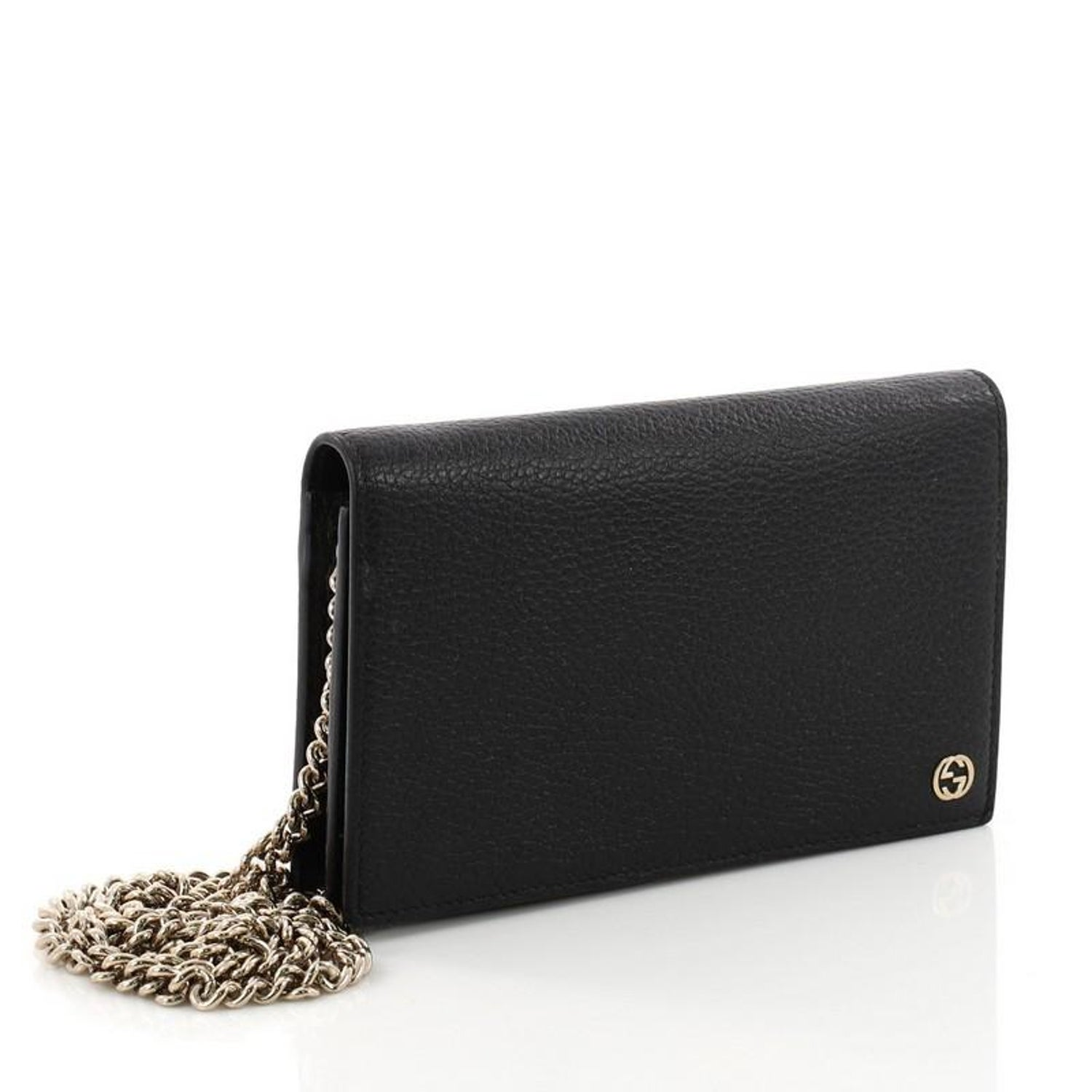 cd1382c6a321 Gucci Betty Chain Wallet Leather at 1stdibs