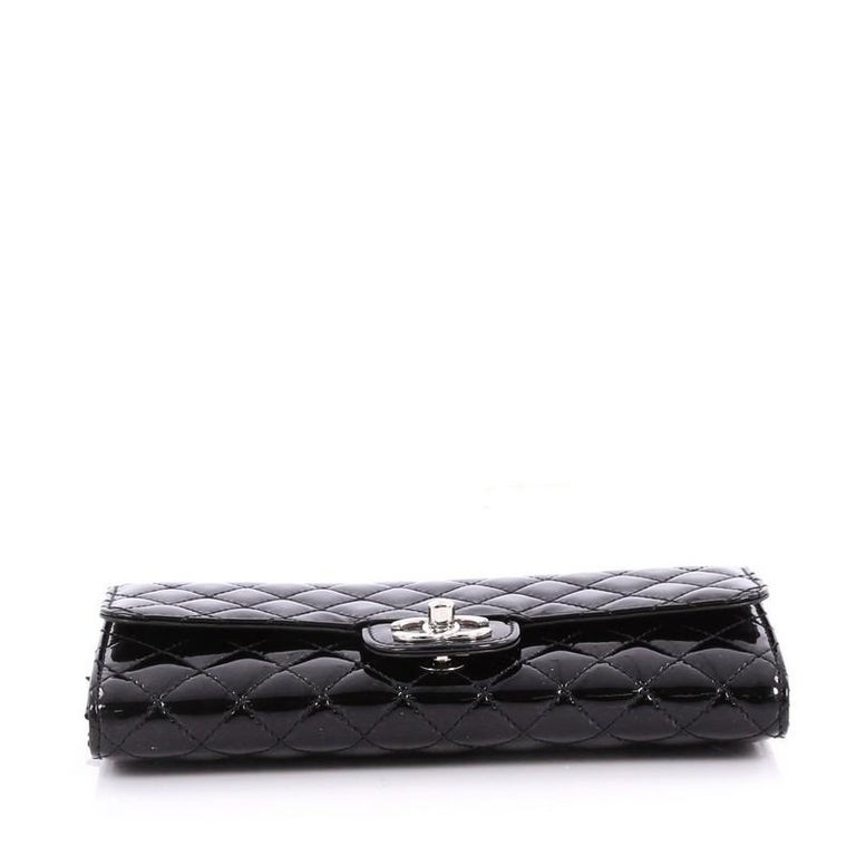 1f0851105388 Women's Chanel Wallet On Chain Clutch Quilted Patent East West For Sale