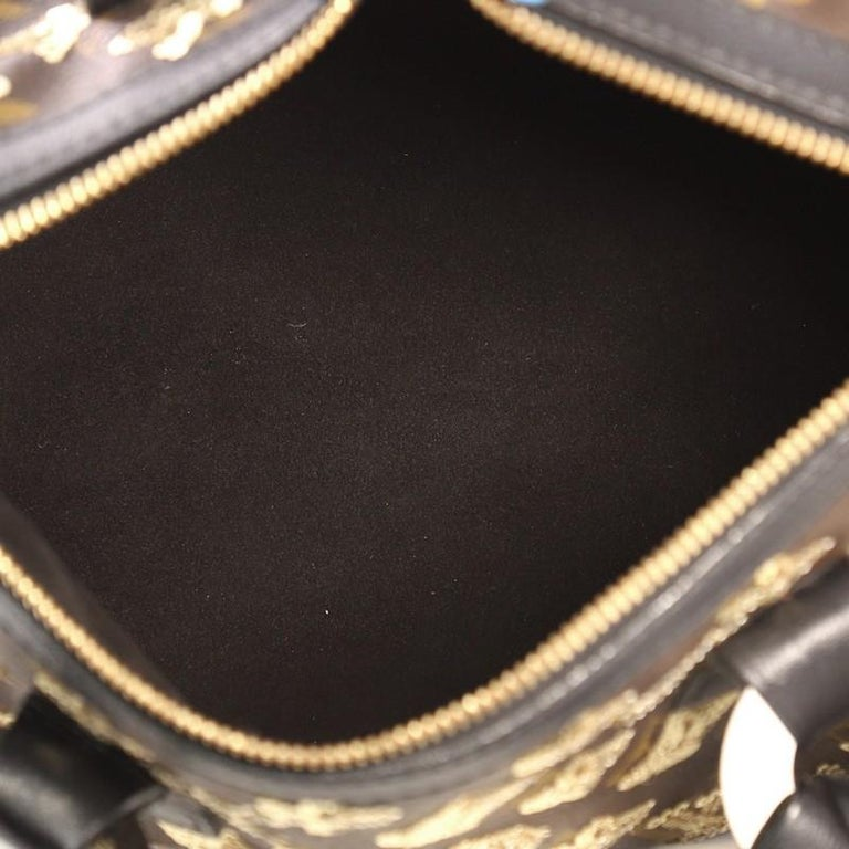 67a2f2c82984 Louis Vuitton Speedy Handbag Limited Edition Monogram Eclipse Sequins 28  For Sale 1