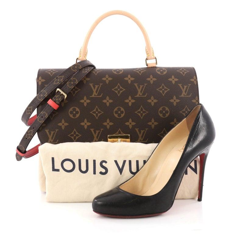Louis Vuitton Marignan Handbag Monogram Canvas With