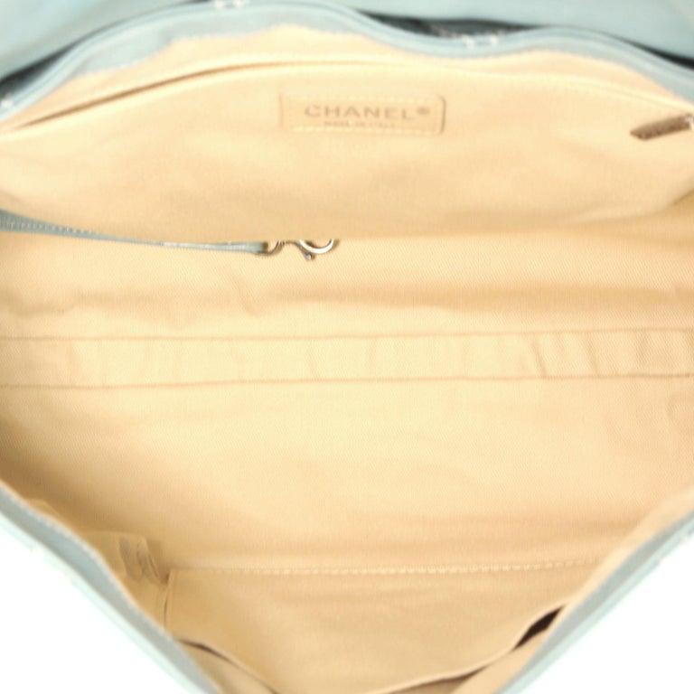 d38603c63d8451 Chanel Wild Stitch Flap Shoulder Bag Quilted Lambskin Large For Sale 1