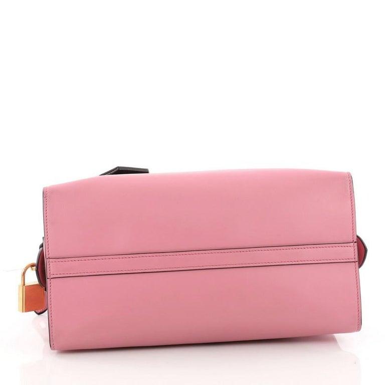 31a88c709c1404 Women's or Men's Prada Esplanade Handbag Greca Saffiano with City Calf  Medium For Sale