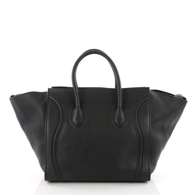 Celine Phantom Handbag Smooth Leather Medium At 1stdibs 6050e581c5