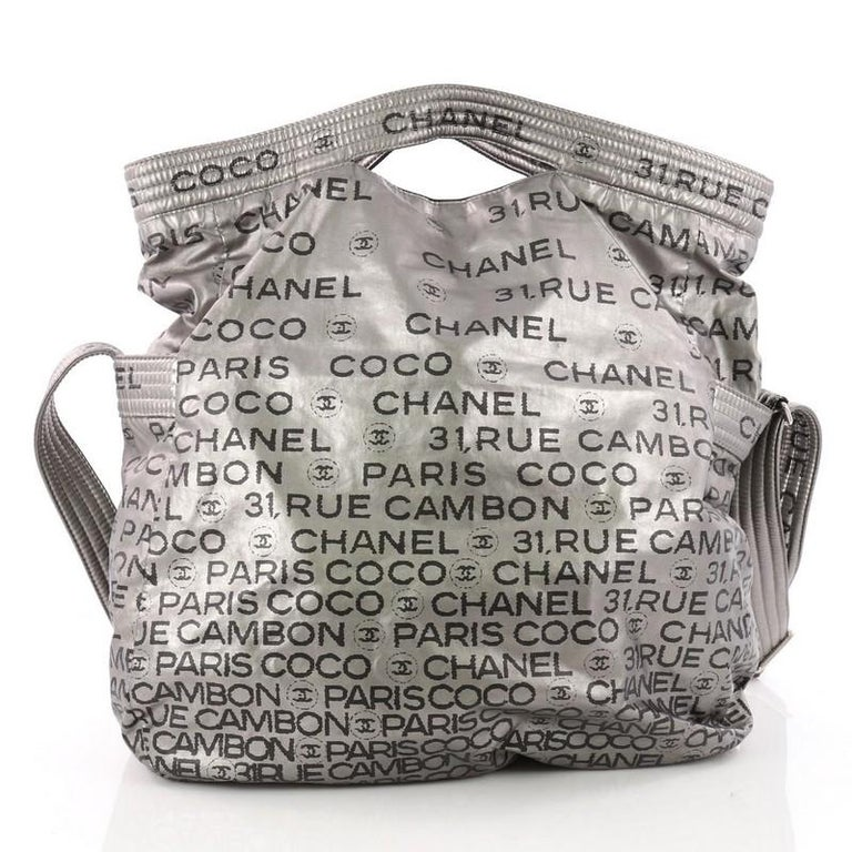 Chanel Unlimited Messenger Bag Nylon Large In Good Condition For Sale In  New York 775211579d3e5