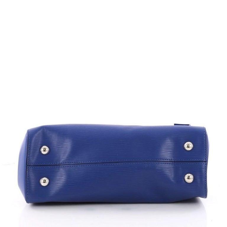 6d7be5da575e Women s or Men s Louis Vuitton Cluny Top Handle Bag Epi Leather BB For Sale