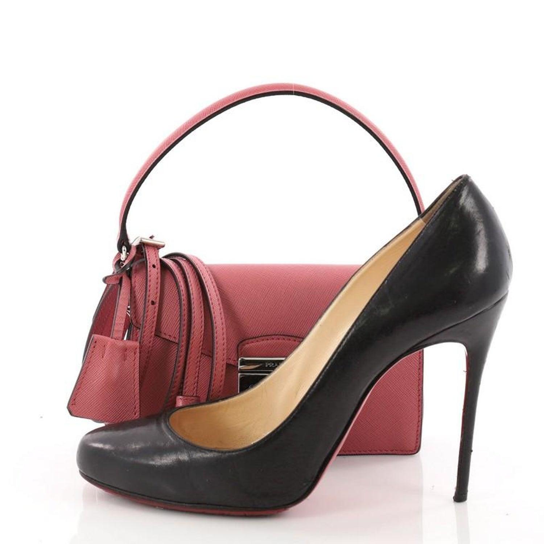 b92987485 Prada Convertible Sound Bag Saffiano Leather Mini at 1stdibs