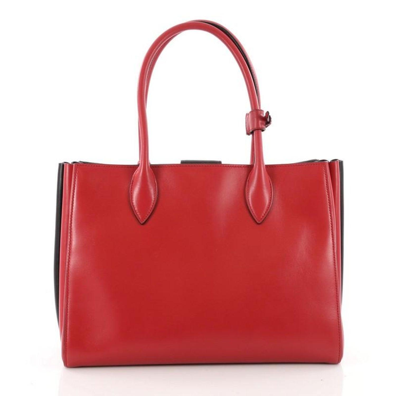 0ee00908d6ca Prada Soft Bibliotheque Handbag City Calfskin Medium at 1stdibs