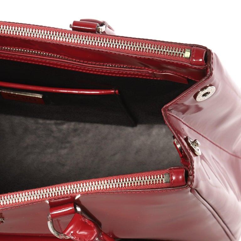 b7deb97b8de230 Prada Front Pocket Double Zip Lux Tote Saffiano Leather Medium For Sale 2