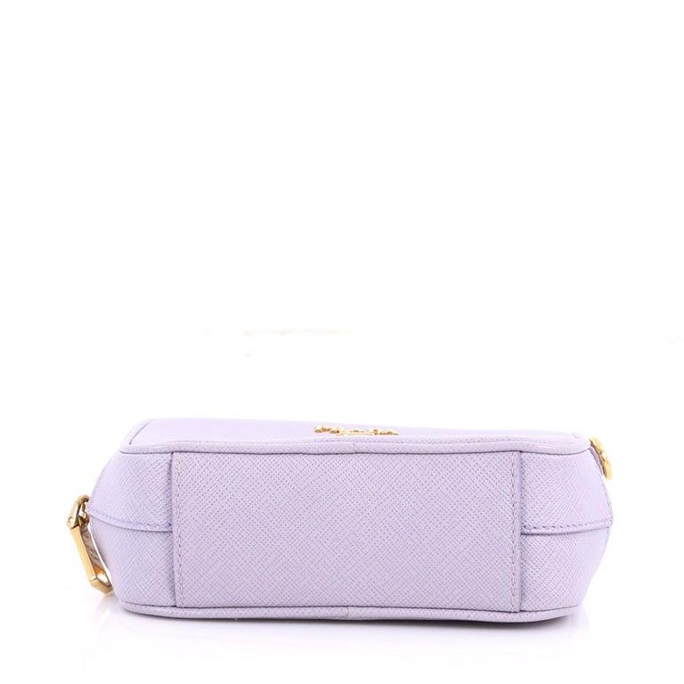 1ab300dfad43 Women s Prada Zip Crossbody Bag Saffiano Leather Mini For Sale