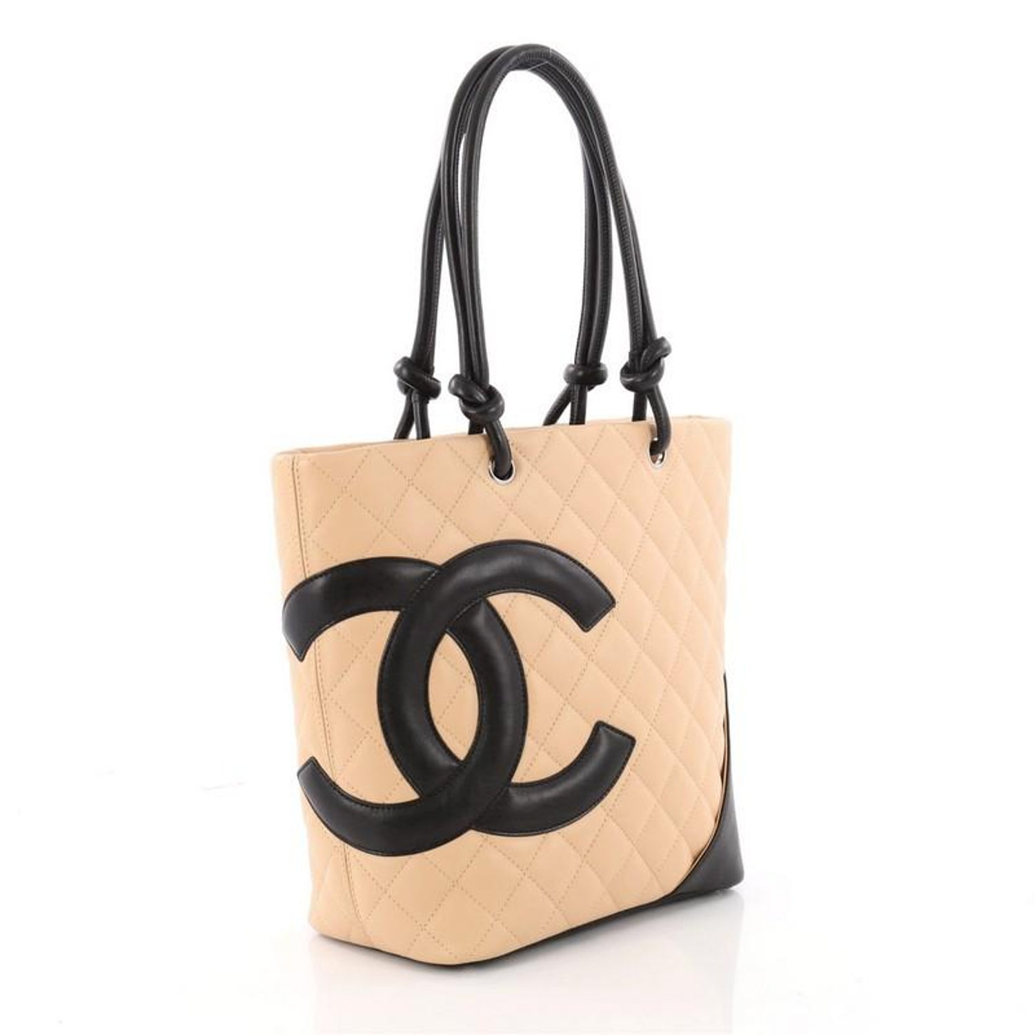 521610c5c84d87 Chanel Cambon Tote Quilted Leather Medium at 1stdibs