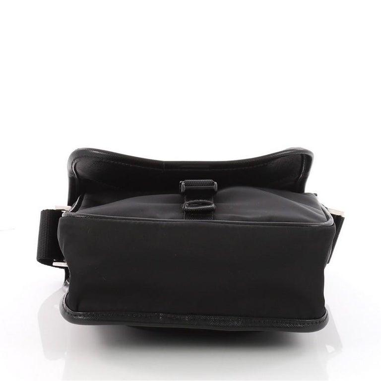 5fa4580ea721 Women's or Men's Prada Buckle Messenger Bag Tessuto Small For Sale