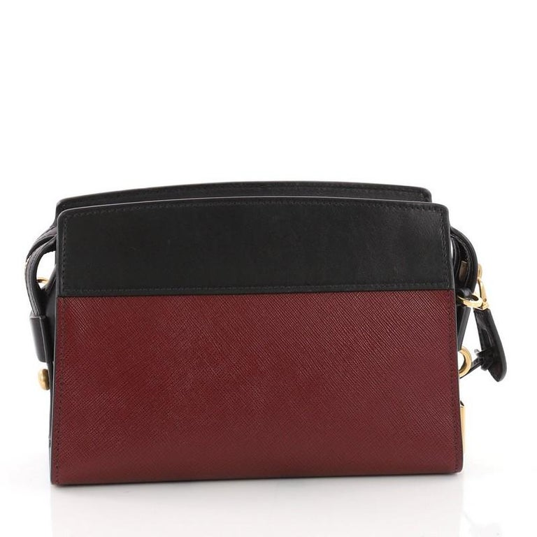 a606bc6bfe Prada Esplanade Crossbody Bag Saffiano Leather Small In Good Condition For  Sale In New York