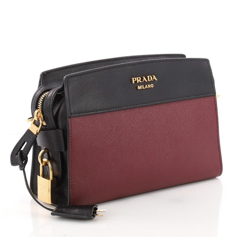c0a800442ca5e Prada Esplanade Crossbody Bag Saffiano Leather Small at 1stdibs