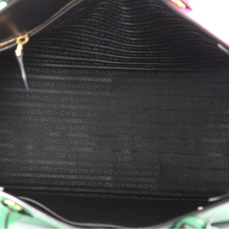 dcef5439fa81 Prada Soft Bibliotheque Handbag City Calfskin Large For Sale 1