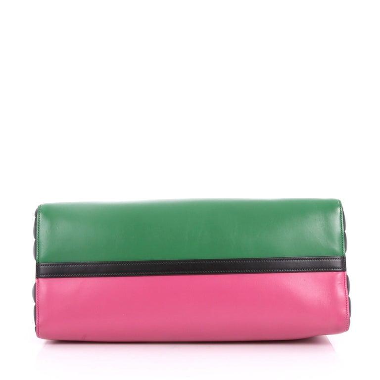 b9118140f45a Women's or Men's Prada Soft Bibliotheque Handbag City Calfskin Large For  Sale