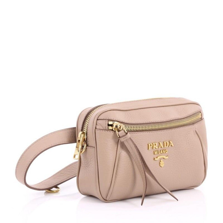a9bcdf2fc016 Prada Convertible Belt Bag Vitello Daino Small at 1stdibs