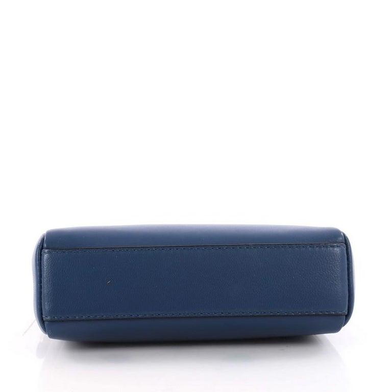 Women's  Fendi Peekaboo Handbag Leather Micro For Sale