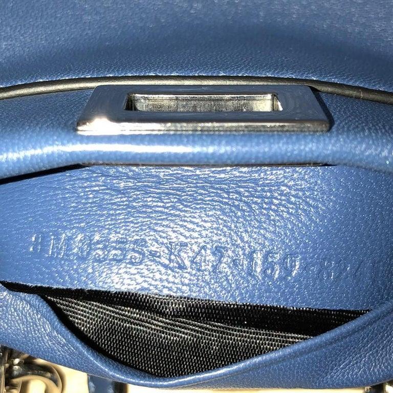 Fendi Peekaboo Handbag Leather Micro For Sale 2