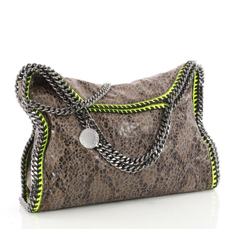 Stella McCartney Falabella Fold Over Bag Faux Python at 1stdibs 3cab8b97eee2e