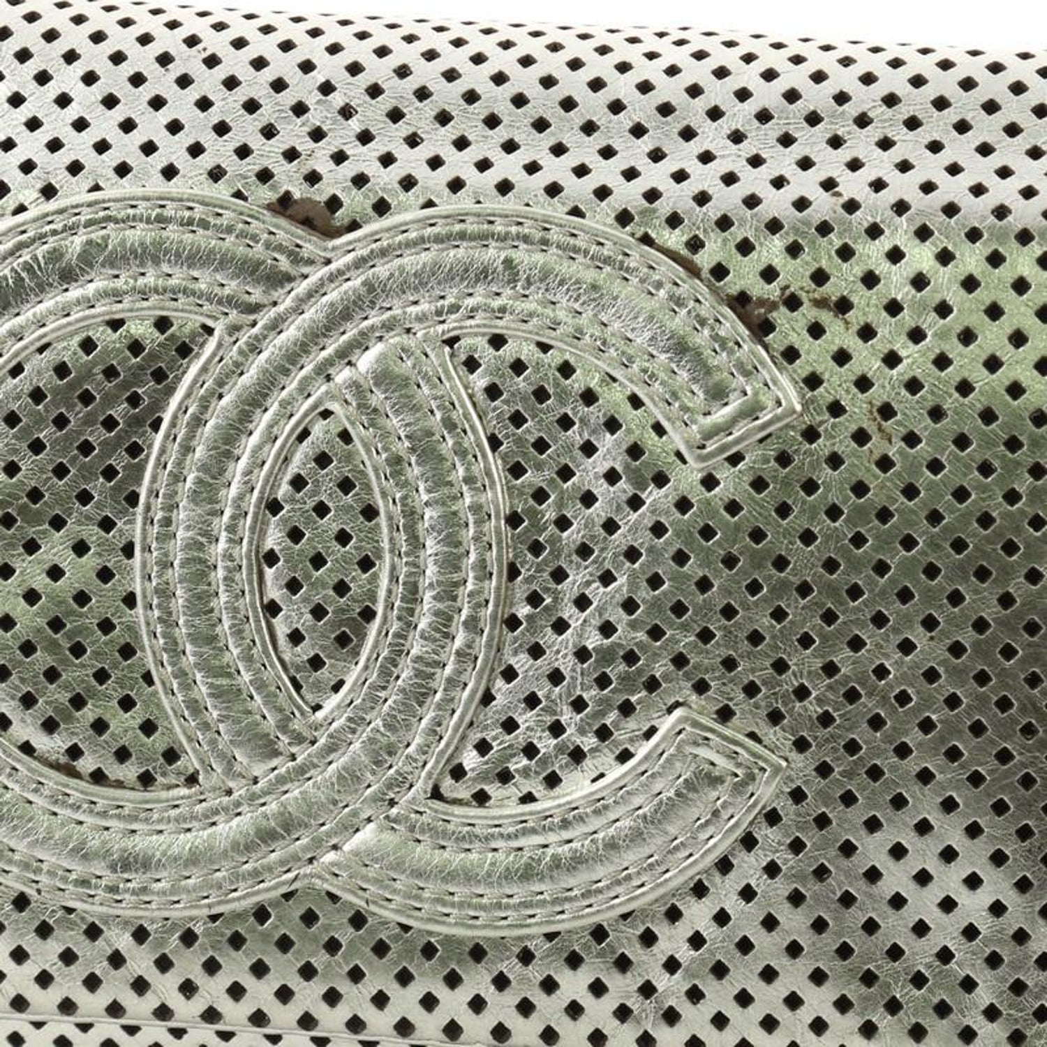 ca5b5d1f1f62 Chanel Rodeo Drive Flap Bag Perforated Leather Medium at 1stdibs