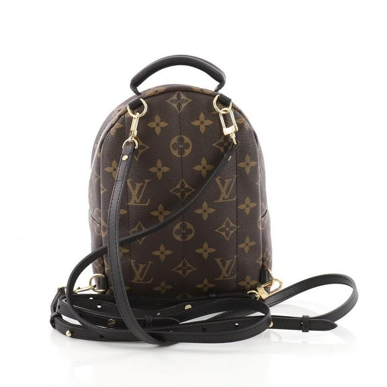 390825537a1da9 Louis Vuitton Palm Springs Backpack Limited Edition Monogram Canvas Mini In  Good Condition For Sale In