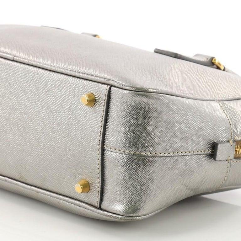 a1ae17608756e9 Prada Convertible Bauletto Bag Saffiano Leather Small For Sale 2