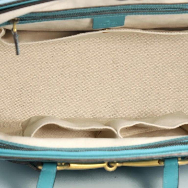 ff90633e5fa24b Gucci Bright Bit Convertible Tote Leather Large For Sale 3