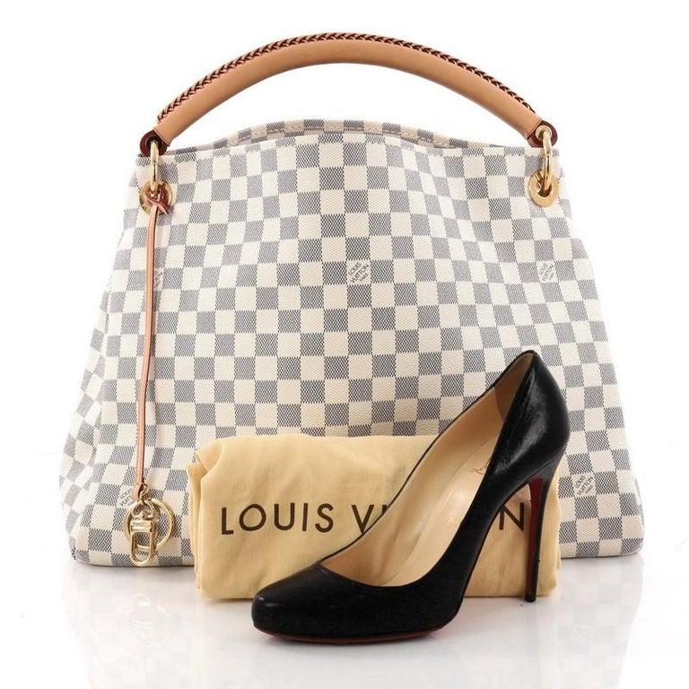 Louis Vuitton Artsy Handbag Damier Mm At 1stdibs