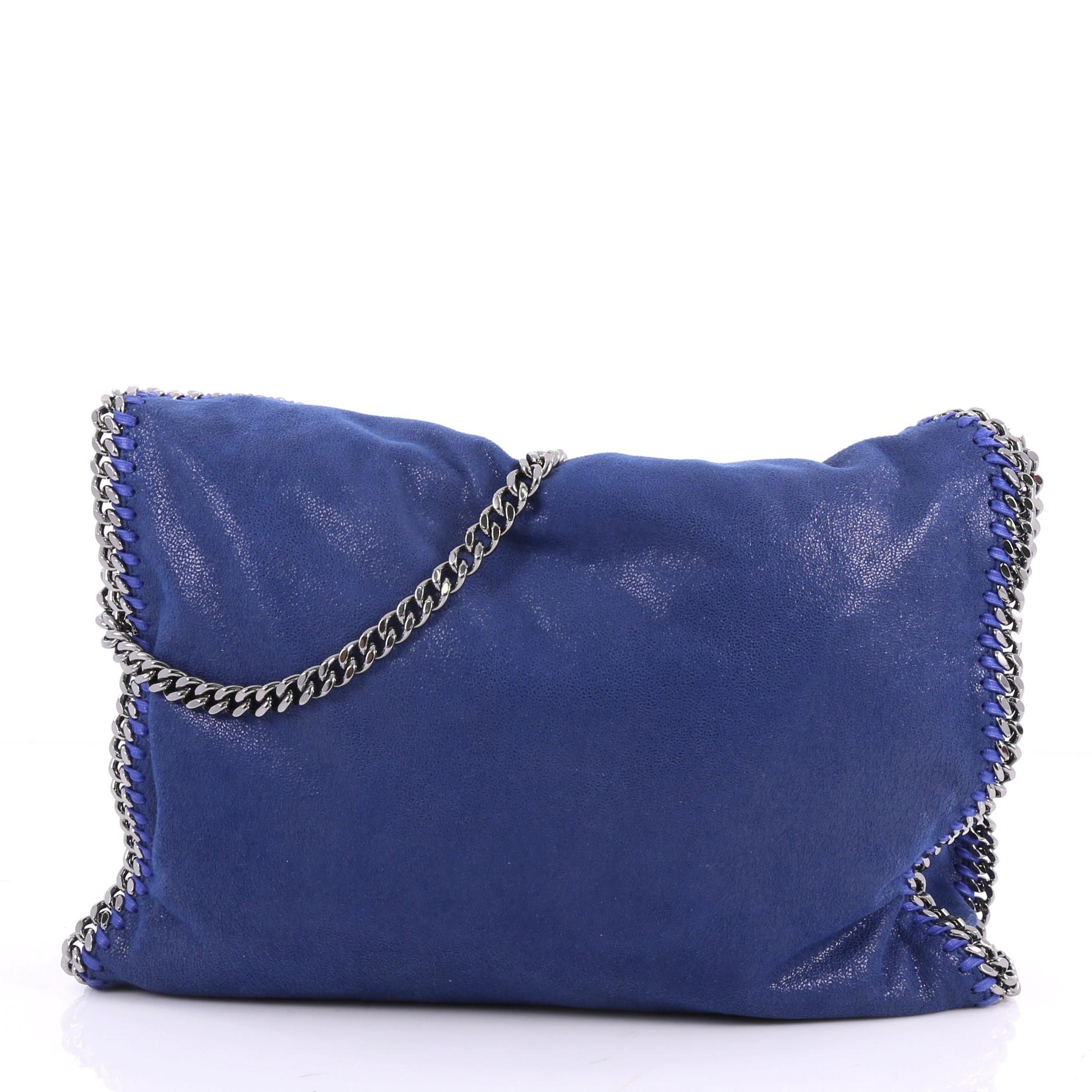 208b3c4cff Stella McCartney Falabella Fold Over Bag Shaggy Deer at 1stdibs