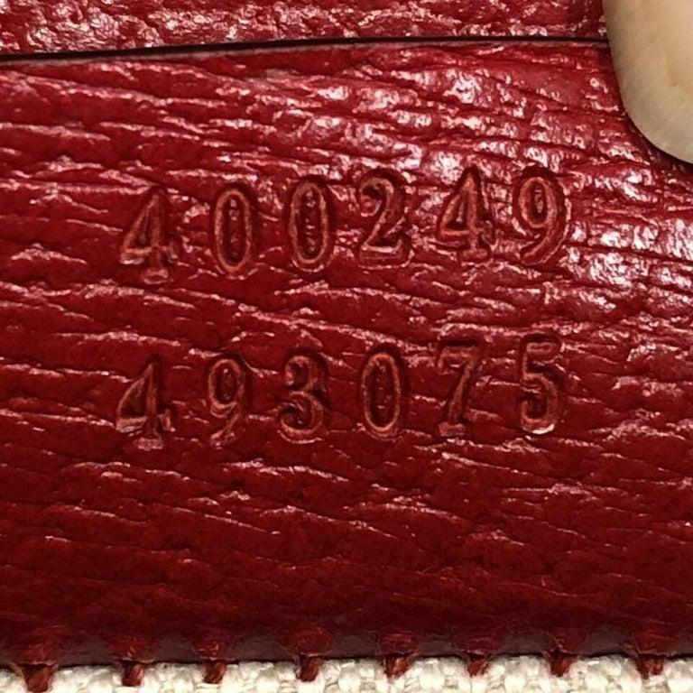 7f21ba9891cc71 Gucci Web Dionysus Small Embroidered Leather Handbag For Sale 2