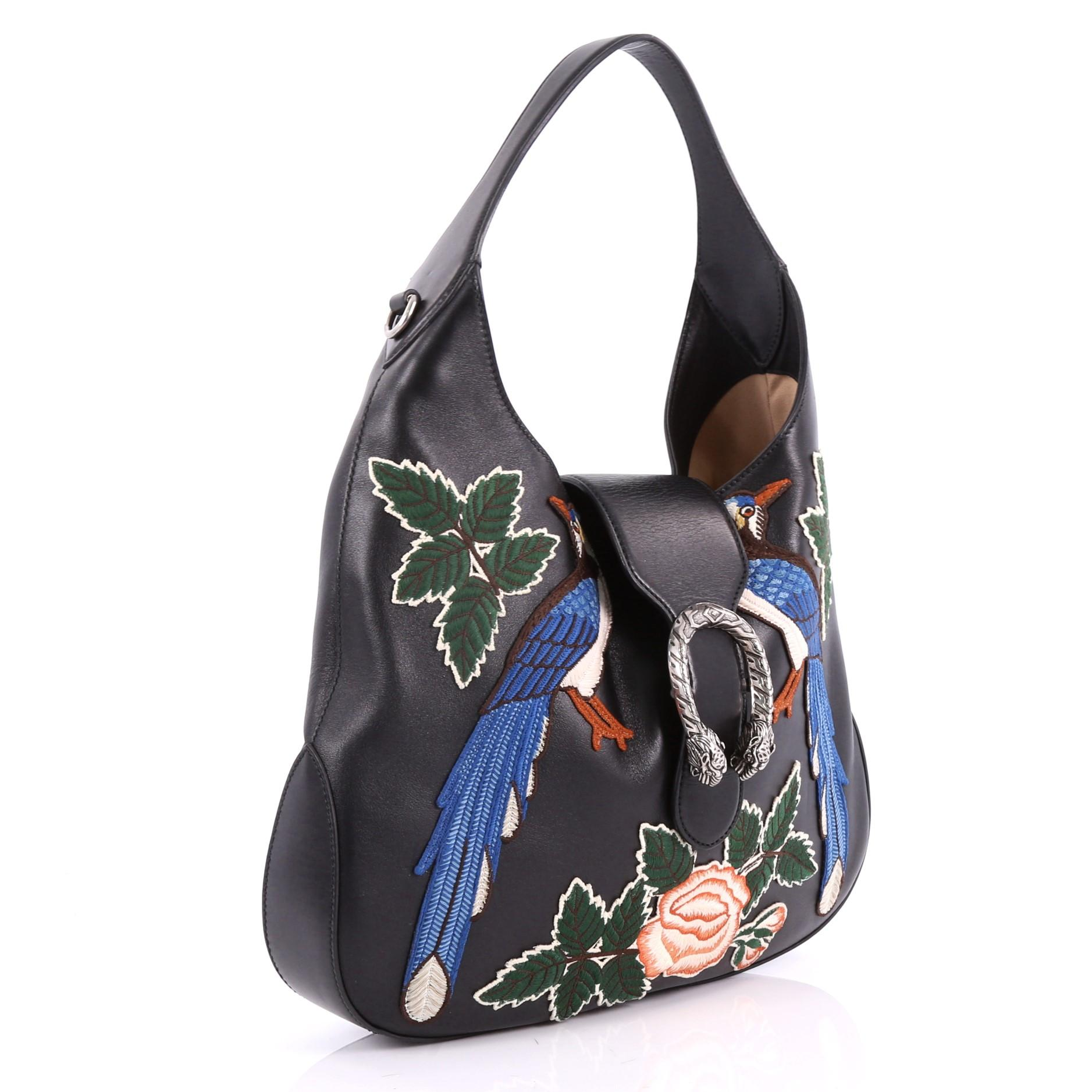 1808274a4470 Gucci Dionysus Hobo Embroidered Leather Small at 1stdibs