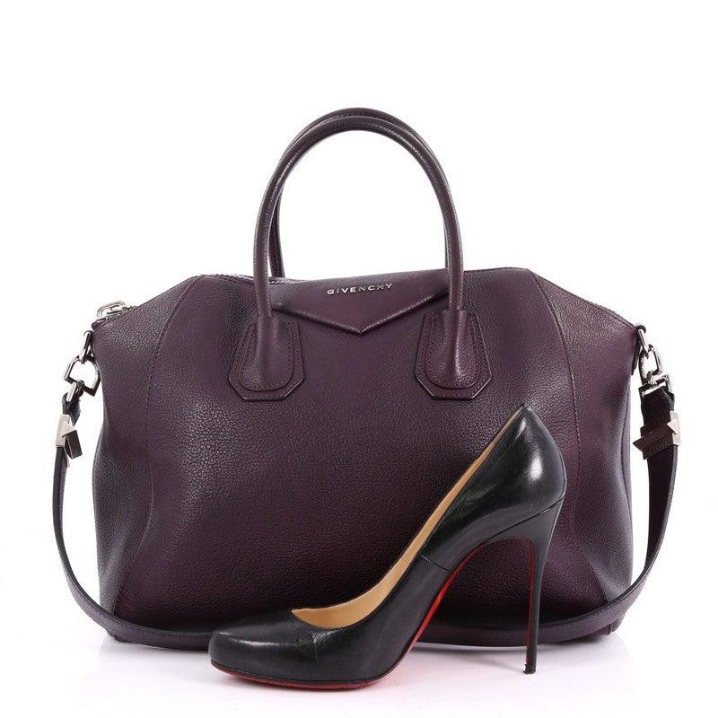 e68de57480 Givenchy Antigona Bag Leather Medium at 1stdibs