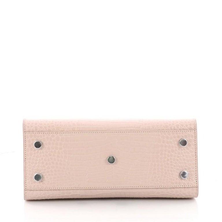 bf0485ba26 Women's or Men's Saint Laurent Sac de Jour NM Handbag Crocodile Embossed  Leather Baby For Sale