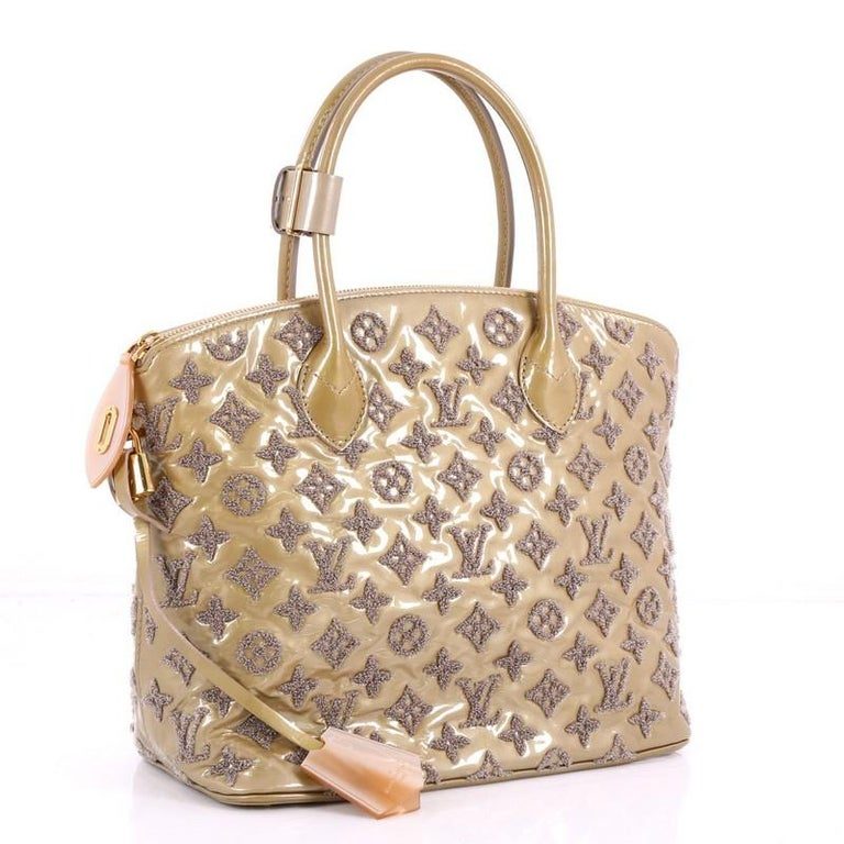 4da439a701ced Louis Vuitton Fascination Lockit Patent Lambskin Handbag For Sale at ...