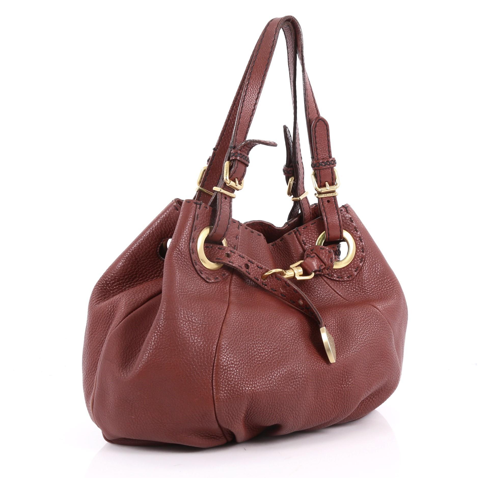 ce23017c0fd9 Fendi Selleria Pomodorino Bag Leather at 1stdibs