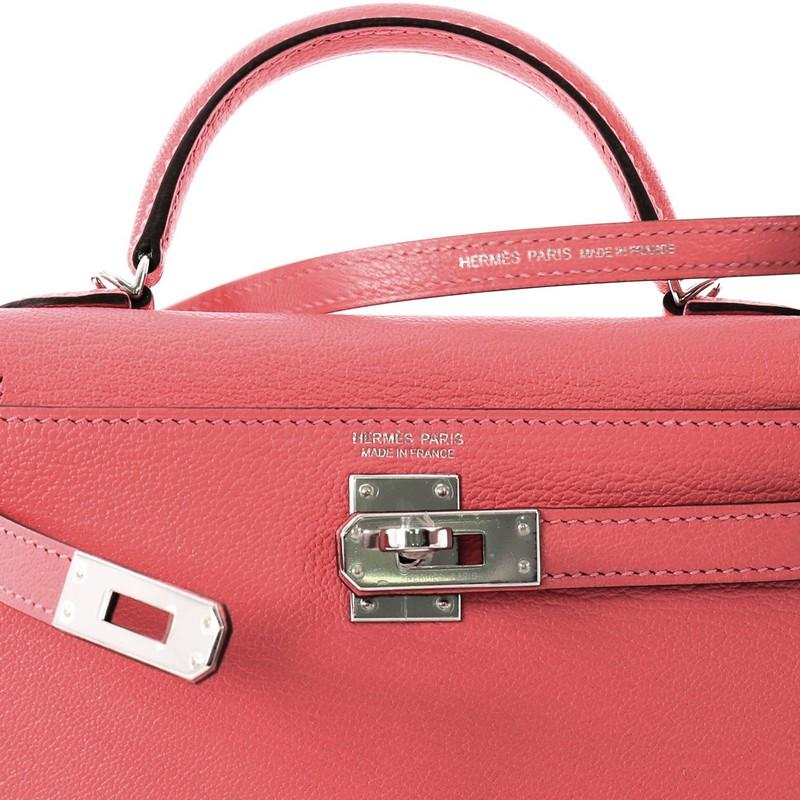 a8bc4dc7097d ... promo code for hermes kelly mini ii handbag rose lipstick chevre mysore  with palladium hardware for